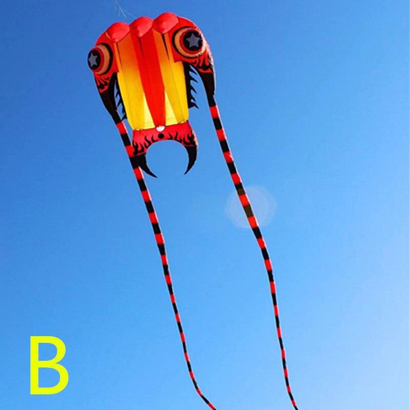 Livraison gratuite qualité supérieure nouveau grand trilobites kite ripstop nylon en plein air jouets volants parachute cerfs-volants pour adultes poulpe cerfs-volants