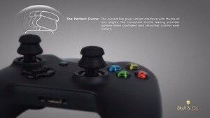 Image 3 - Silikonowe uchwyty analogowe Thumb Stick nakrętki na wentyle na kontroler do Xbox One Skull & Co. Osłona na palce FPS Master dla gamepada Xbox One
