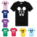 Plus Size Anime T Shirt Mickey Women 2016 Summer Cotton Camisetas Mujer Tshirts Kawaii Cute Short Sleeve Cartoon T-Shirts F10984