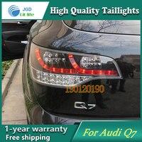 Фирменная Новинка Стайлинг для Audi Q7 Задние фонари 2006 2010 LED Фонарь задний светодиодные лампы ДРЛ Сингал Освещение