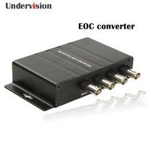 Coaxial Cable EOC Converter 4BNC,1 Ethernet, 300M/600M  Coaxial-LAN EOC Converter