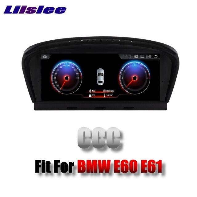 Für BMW 5 E60 E61 CCC system 2003 ~ 2007 LiisLee Multimedia GPS Audio Radio Stereo Ursprünglichen Stil Für CCC Navigation NAVI