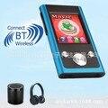 Qinkar 8 GB bluetooth Sport MP3 player 1.8 pulgadas de pantalla FM Radio e-book grabar vídeo bluetooth Mini portátil multimedia jugador
