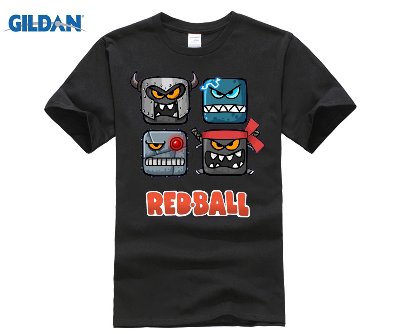 Red Ball 4 - The Bad Boxes T-shirt 2019 Summer Men's Short Sleeve T-Shirt
