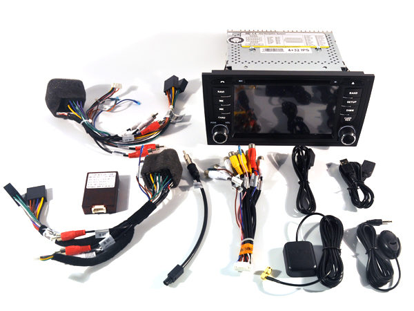 Android 5 1 car dvd player for Audi A6 1997 2004 S6 RS6 radio font b