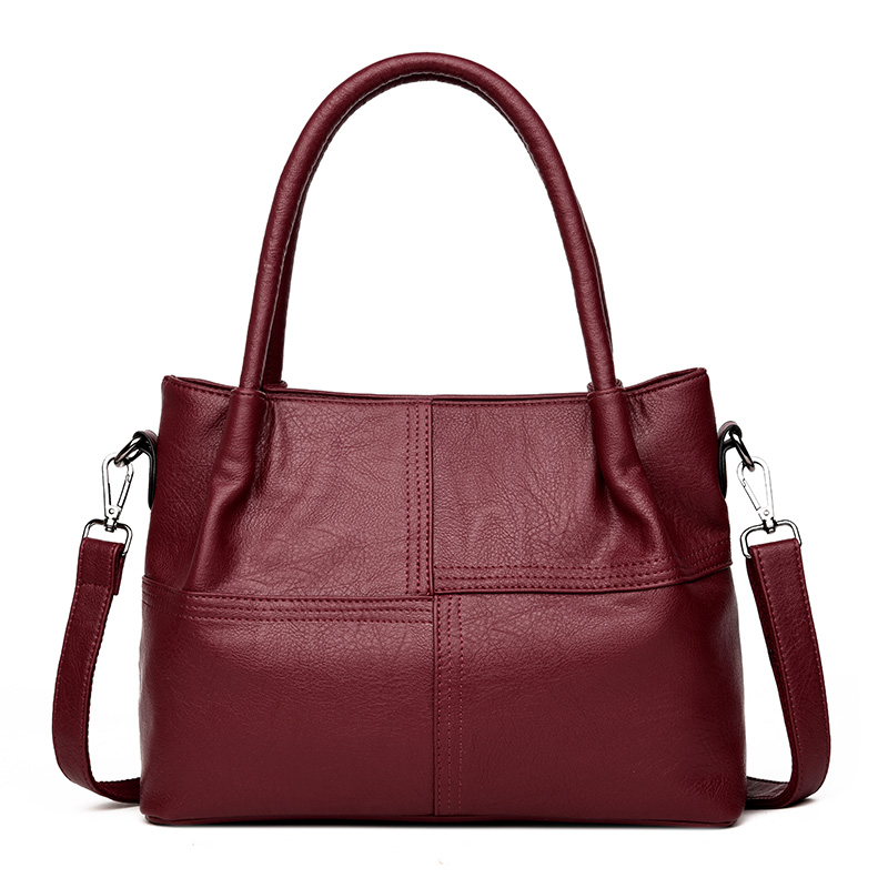 Bag Female New Leather Luxury Handbags Women Bags Designer High Quality Soft Double Zippers Small Crossbody Bags For Women sac 2018 luxury handbags women bags designer handbags high quality tote bag pu leather bag women shoulder bag ladies small sac new