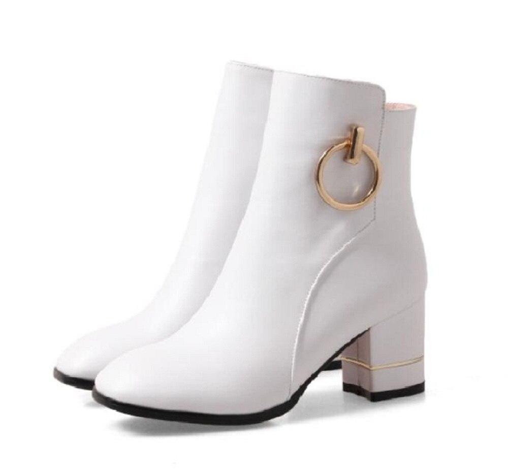 bottes femme blanc promotion-achetez des bottes femme blanc