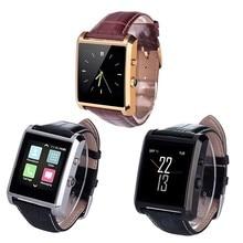 LF06 DM08 Bluetooth Smart Uhr Männer Leder IPS Kamera Smartwatch armbanduhr Für iOS Android Telefon PK M26 U8 DZ09 GV08 uhr