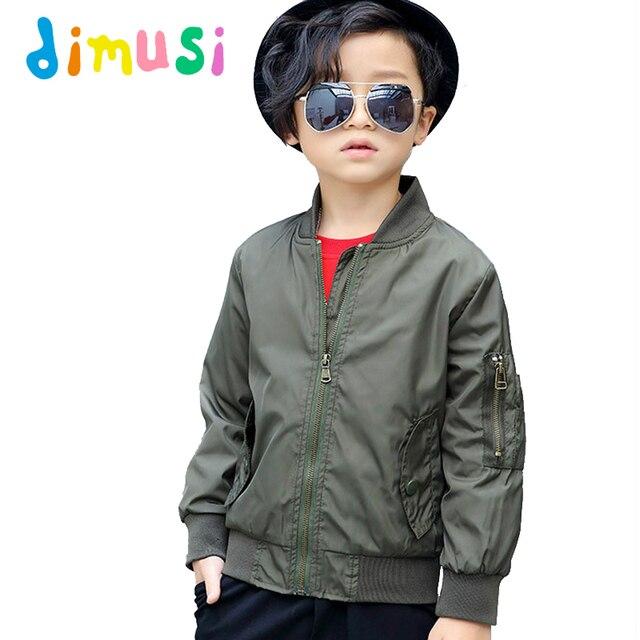 DIMUSI Primavera Bomber jacket para niños del Otoño del Muchacho niños  Chaqueta de Abrigo rompevientos outwear 70505505156