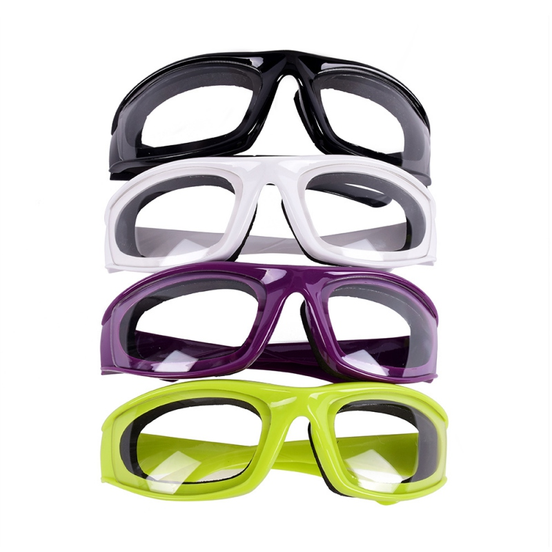 Kitchen Onion Goggles Tear Free Slicing Cutting Chopping Mincing Eye Protect Glasses New