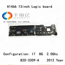 """Used with 100% working Logic board for Macbook Air A1466 mother board 13"""" I7 8G 2.2Ghz 2012 year 820-3209-A"""