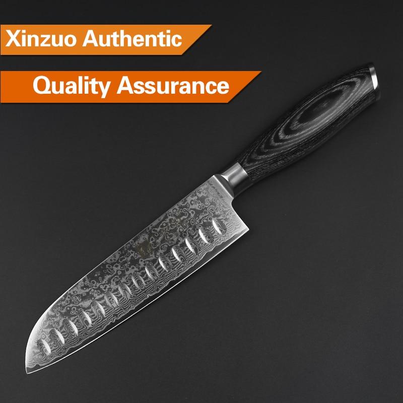 XINZUO 5pcs Kuhinjski noževi set 67 slojeva japanski VG10 Damask - Kuhinja, blagovaonica i bar - Foto 4