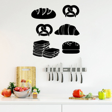 Modern fast food Wall Art Decal Decoration Fashion Sticker Pvc Decals Home Accessories