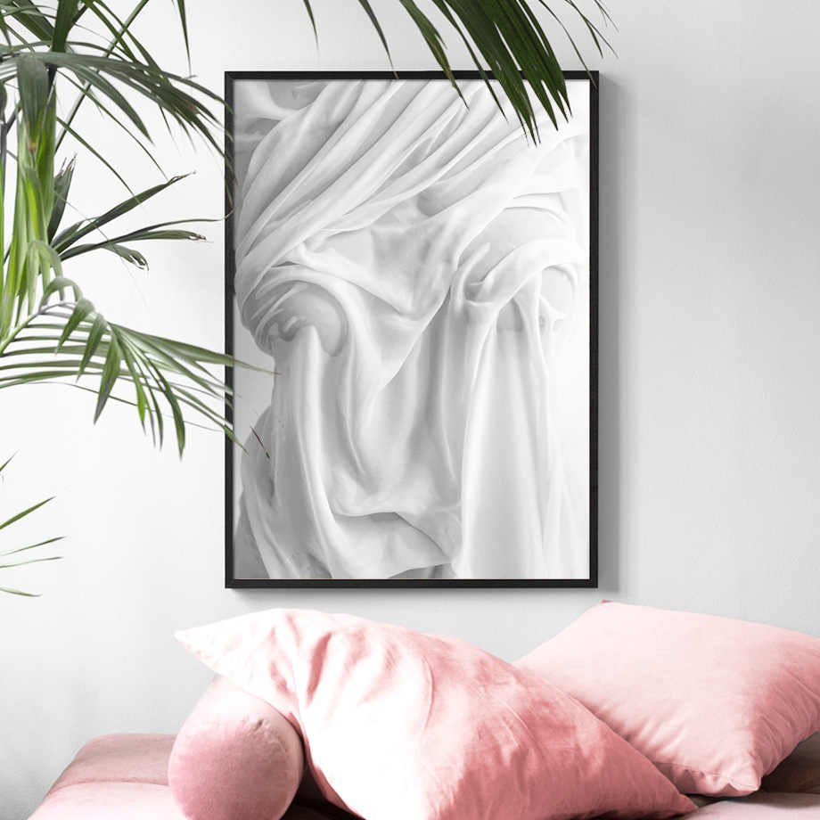 Abstract Sexy Girl Wall Art Canvas Painting Nordic Posters And Prints Black White Body Art Wall Pictures For Living Room Decor
