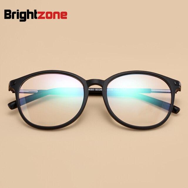 2feab1a7936 New Arrival Fashion Korean Brand Ultra-light TR90 Myopia Glasses Frame Big  Circular Round Frame Eyeglasses Vintage Large Frame