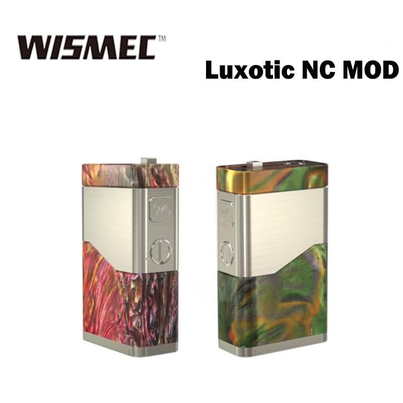 WISMEC Luxotic NC 250 w MOD Kit Prend En Charge 18650 20700 Batterie E Cig Boîte de MOD Fit Guillotine V2 RDA Vs luxotic BF