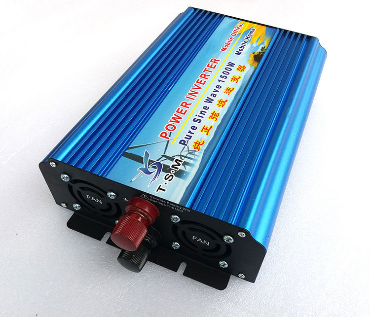 цена на digital display 1500W DC12V/24V/48V TO AC110V/220V 50HZ/60HZ Converter Solar Inverter Pure Sine Wave Inverter