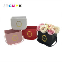 Small Size 16 5x12x12 5cm Small Flower Bucket Portable Flower Gift Box Four Colors Choose Buy