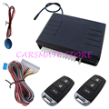 Universal Car Remote Keyless Entry with Outside Code Button & LED Indicator Remote Lock / Unlock / Trunk Release Carsmate