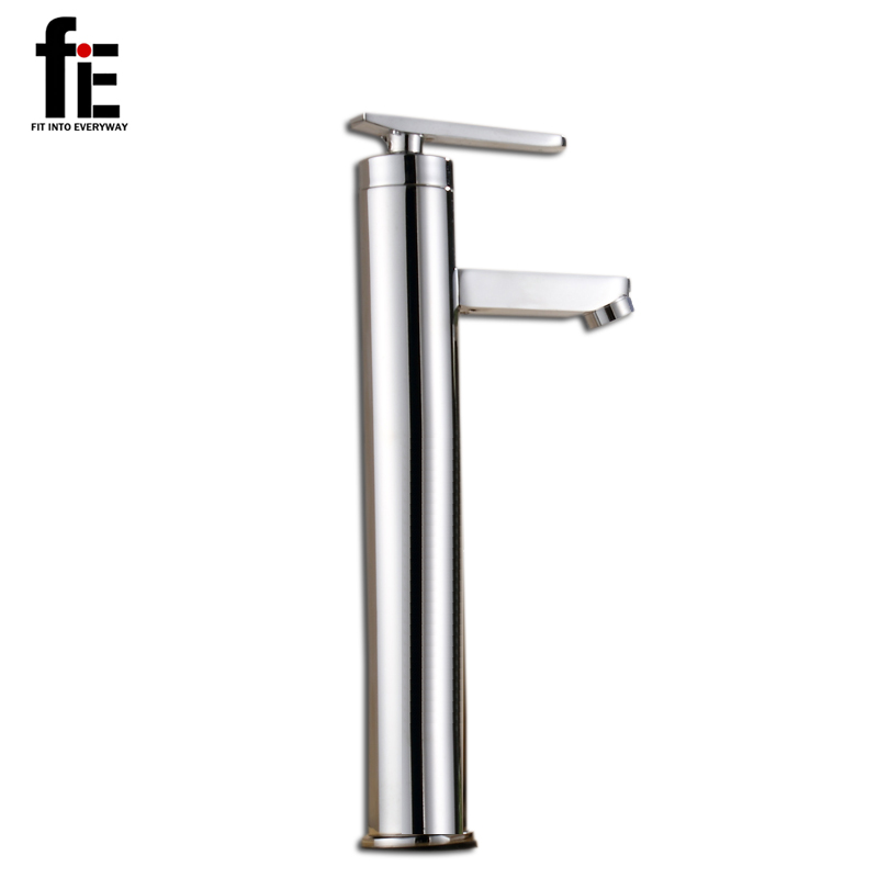 Fitintoeveryway Solid Brass Water Tap Bathroom Basin Faucet Bathroom Tap Cold And Hot Bathroom