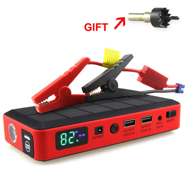 Car Rover Jump Starter 14800mah Power Bank Emergency Car Battery Pack Multi-function Auto Booster Supply 1000A Peak Current