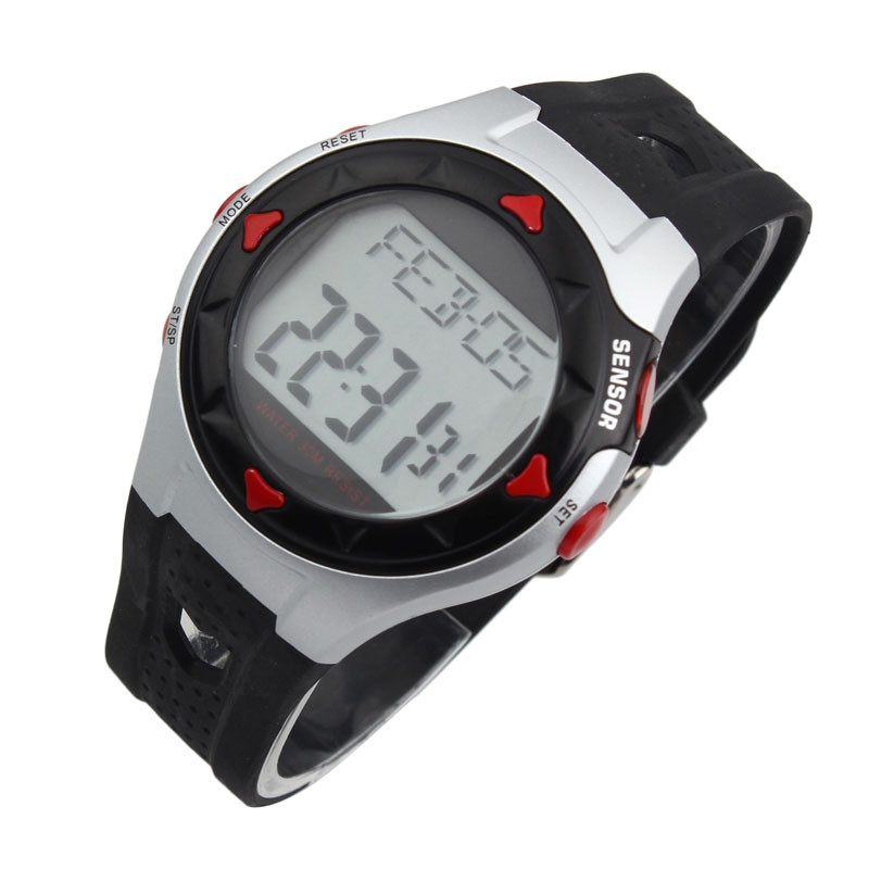 2018 New hot amazing wonderful classical Colorful Waterproof Fitness LCD Pulse Heart Rate Monitor Calories Counter Watch