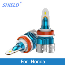 2 Pcs LED Car Headlight H4 H1 H3 H7 Auto Headlamps 6000k 12V For Honda Civic/CRV/JAZZ/FIT/Accord/City/Insight/CRX/Ridgeline