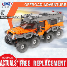 New XingBao 03027 Car Series The All Terrain Vehicle Set Building Blocks Bricks Toys For Kids
