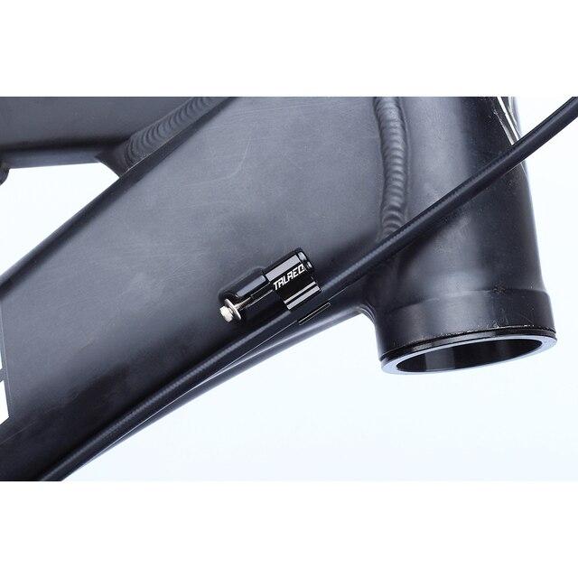 4 pièces en aluminium vélo huile Tube fixe Conversion siège vtt VTT hydraulique frein à disque câble Guide boîtier adaptateur