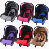 Newborn baby basket safety seat child baby car cradle cart dual use