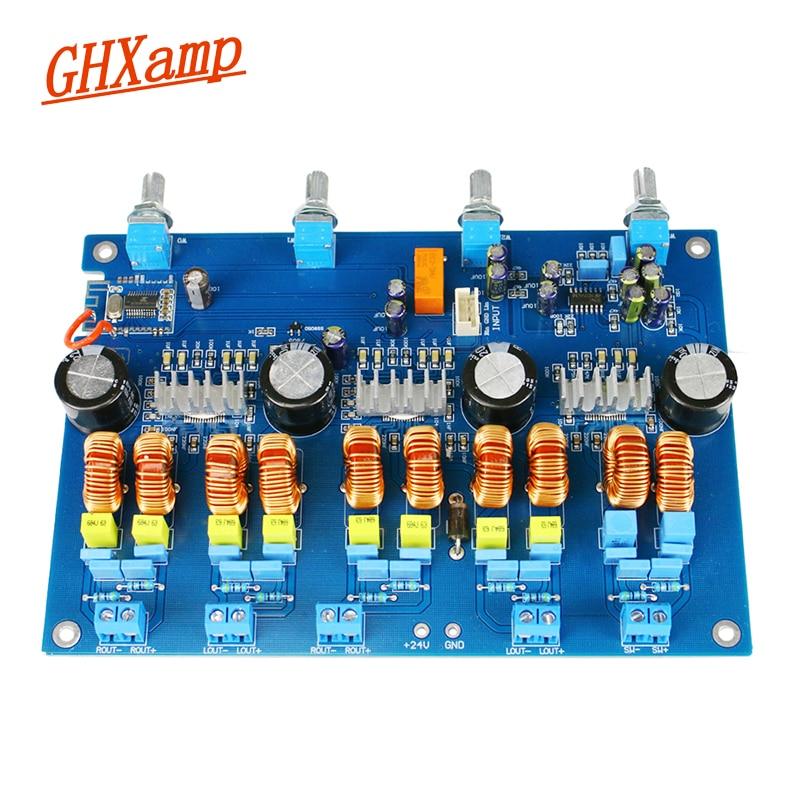 GHXAMP TPA3116 4 1 Channel Bluetooth Amplfier Audio Board 50W 4 100W High Power TPA3116D2 Class