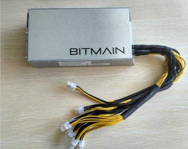 Free Shipping Original Bitmain 1600w Power Supply,6PIN*10 Antminer APW3++-12-1600,BITMAIN APW3 PSU Serie,ETH PSU,antminer Z9 PSU