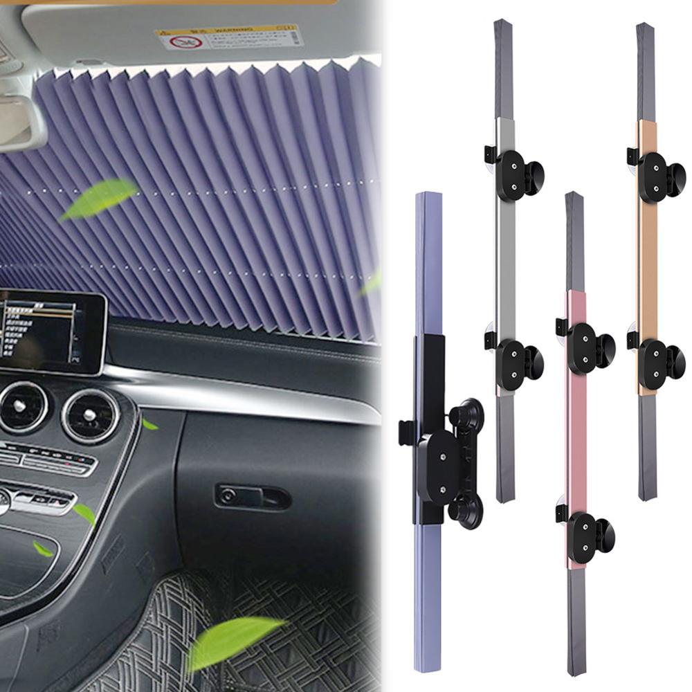 Upgrade Automatic folding Car Windshield Sun Shade Automatic Extension visor SUV MPV truck window enhanced UV