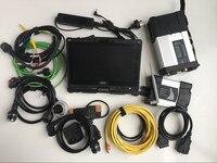 2in1 мб инструмент диагностики звезда C5 для BMW Icom следующий wifi Tablet i5 4g ноутбук v110 touch с 2 ssd программного обеспечения готовы Применение сканер