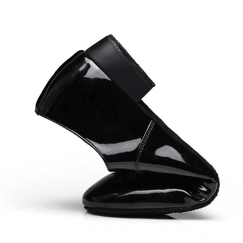 Image 5 - Big Size 38 45 Dance Shoes Men Modern Ballroom Low Heel Tango Latin Dancing Shoes Jazz Dance Practice Sneakers-in Dance shoes from Sports & Entertainment