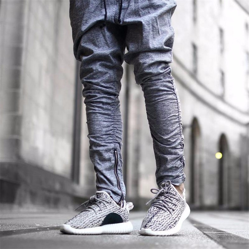2018 Pantaloni Della Tuta Justin Bieber Kanye di Dio Pantaloni Uomo Pantaloni Della Tuta Abbigliamento Urbano Casuale Harem Pantaloni Da Uomo