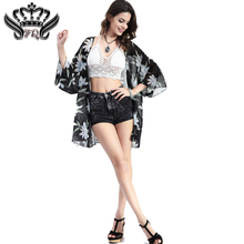 2016 Women Blouses Summer Style Fashion Women s Vintage Flower Print Chiffon Blouse Shirt Women Loose