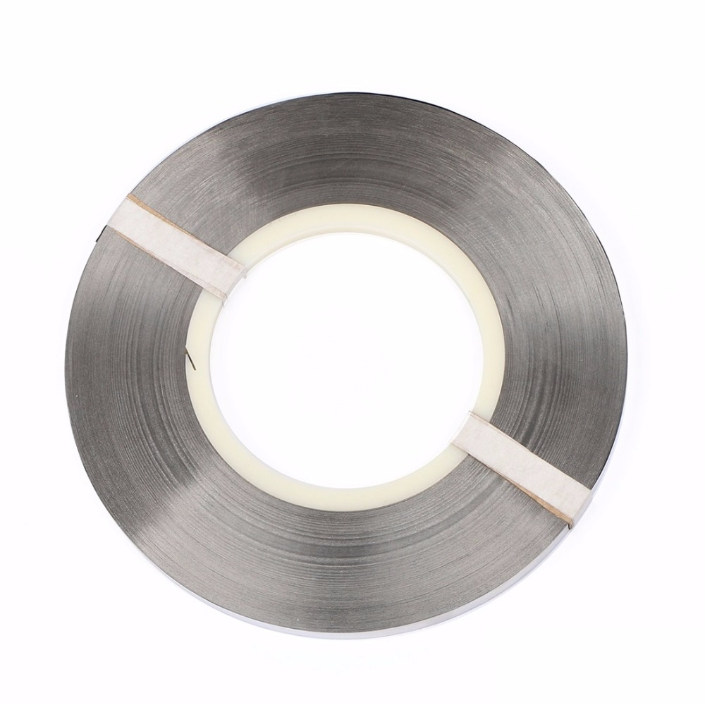 Pure Nickel Strip 0 15 x 8 mm Strap for High Capacity Lithium Battery Pack Welding