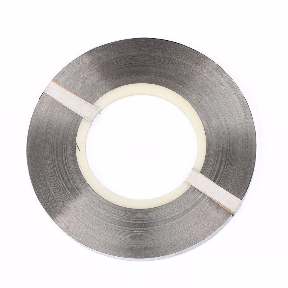 все цены на Pure Nickel Strip-0.15 x 8 mm Strap for High Capacity Lithium Battery Pack Welding Soldering 1kg/roll онлайн
