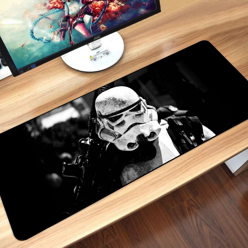 80x30cm Star Wars Gaming Mouse Pad XXL Computer Mousepad Large XL Rubber Desk Keyboard Mouse Pad Mat Gamer For Call Of Duty 3