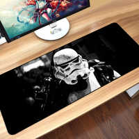 80x30cm star Wars Gaming Mouse Pad XXL Computer Mousepad Grande XL Gomma Scrivania Tastiera Mouse Pad Zerbino gamer per Call of Duty 3