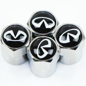 Image 2 - Funda de tapa de metal con emblema de coche para Infiniti FX35 Q50 Q30 ESQ QX50 QX60 QX70 EX JX35 G35 G37 EX3 accesorios de diseño de coche