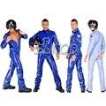 Красноармеец резина комбинезон латекс тело костюм военная форма для мужчин костюмы косплей НАБОРЫ SUITOP
