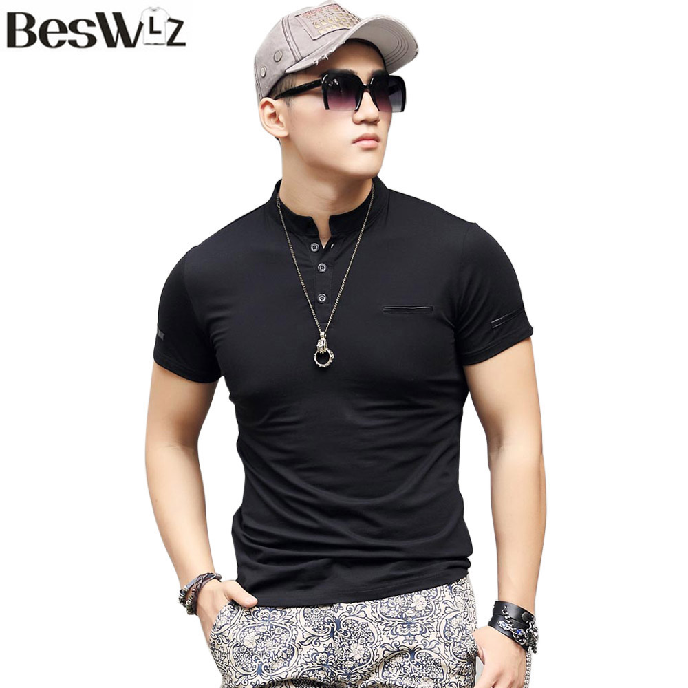 Buy beswlz summer men 39 s t shirts short for Corporate shirts for men