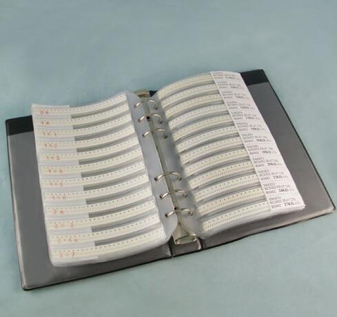 90valuesX50pcs = 4500 шт 0603 0.5pf-2,2 мкФ SMD керамический конденсатор набор серии GRM188 образец книга Образец комплект