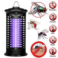 Electronic Mosquito Killer Lamp Insect Bug Fly Stinger Pest Control New Fly Trap LED Light Lamp mosquito Bug Insect Repeller