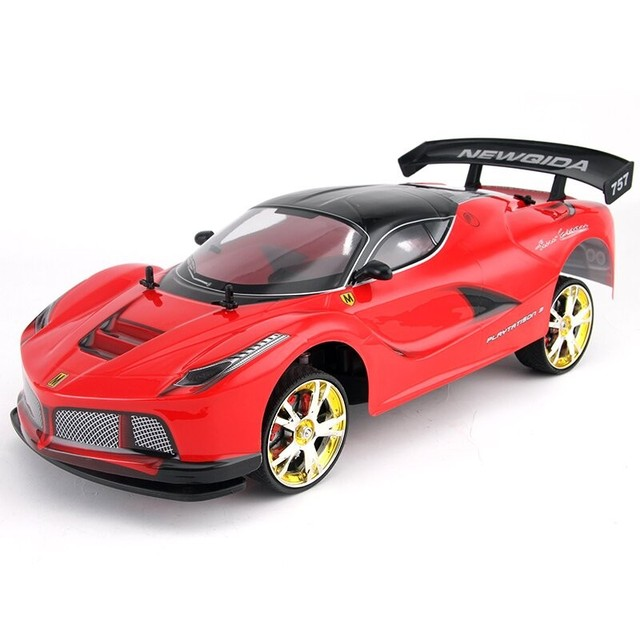Large RC Car 1:10 High Speed Racing Car For Ferrary Viper Championship 2.4G 4WD Radio Control Sport Drift Racing Electronic Toys 2