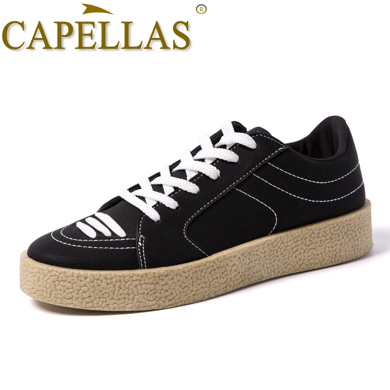 Capellas Brand Shoes New Men Shoes Spring Autumn Lelaki Lelaki Kasual - Kasut lelaki
