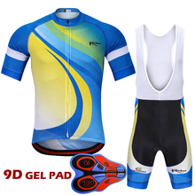 цена на 2018 New Design Ropa Ciclismo Pro Cycling Clothing Set Short Sleeve Cycling Jersey Suit Maillot Racing Bike Clothes Jersey
