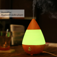 Bluetooth Essential Oil Diffuser Air Humidifier Aromatherapy Diffusers Ultrasonic Mist With 7 Color LED Aromatherapy Diffuse